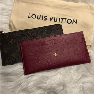 Louis Vuitton RARE Félicie Inserts NEW